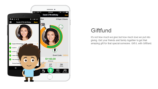 Group gift-giving made easy with the new Giftfund app