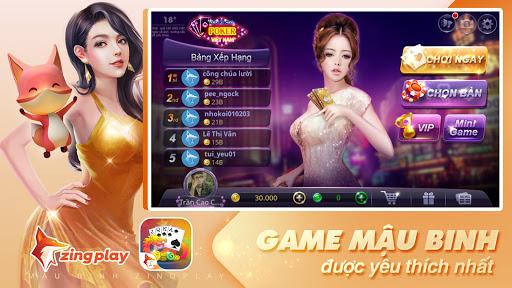 Poker VN - Mậu Binh – Binh Xập Xám - ZingPlay apkmartins screenshots 1