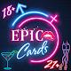 Epic Cards 18+ Игра для взрослых Download for PC Windows 10/8/7