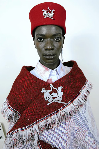 "Thebe Magugu Autumn/Winter 2021 ""Alchemy"" collection."