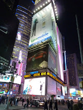 Photo: Time square by night