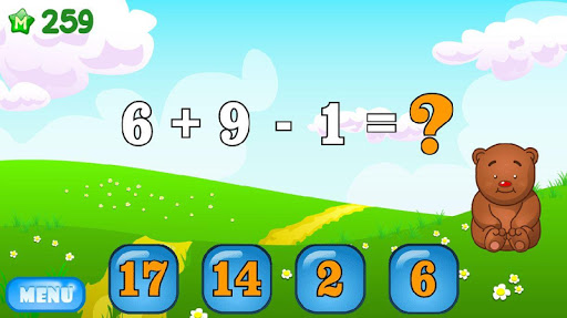 Mathematics and numerals: addition and subtraction 2.7 screenshots 6