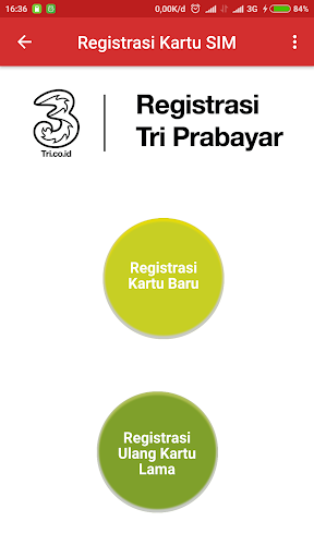 Registrasi Kartu SIM for PC