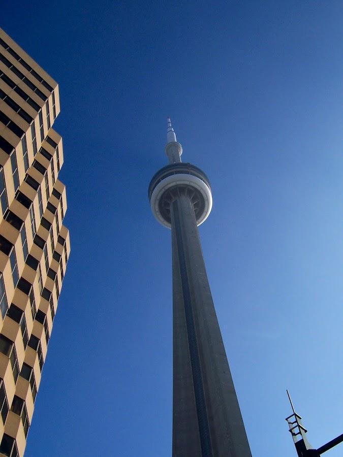 CN Tower, Toronto, CA by Jennifer Tsang - Travel Locations Landmarks ( toronto, cn tower )