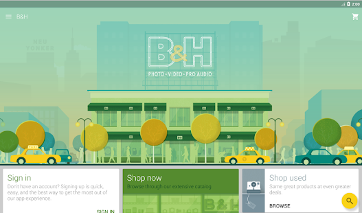 B&H Photo Video Pro Audio- screenshot thumbnail