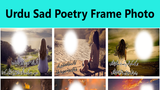 Urdu Sad Poetry Frame Photo Editor for PC