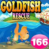 Goldfish Rescue 166-Android