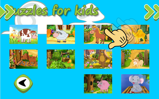 Animal Puzzles for kids free - screenshot