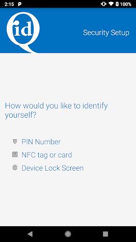 idQ Access Screenshot