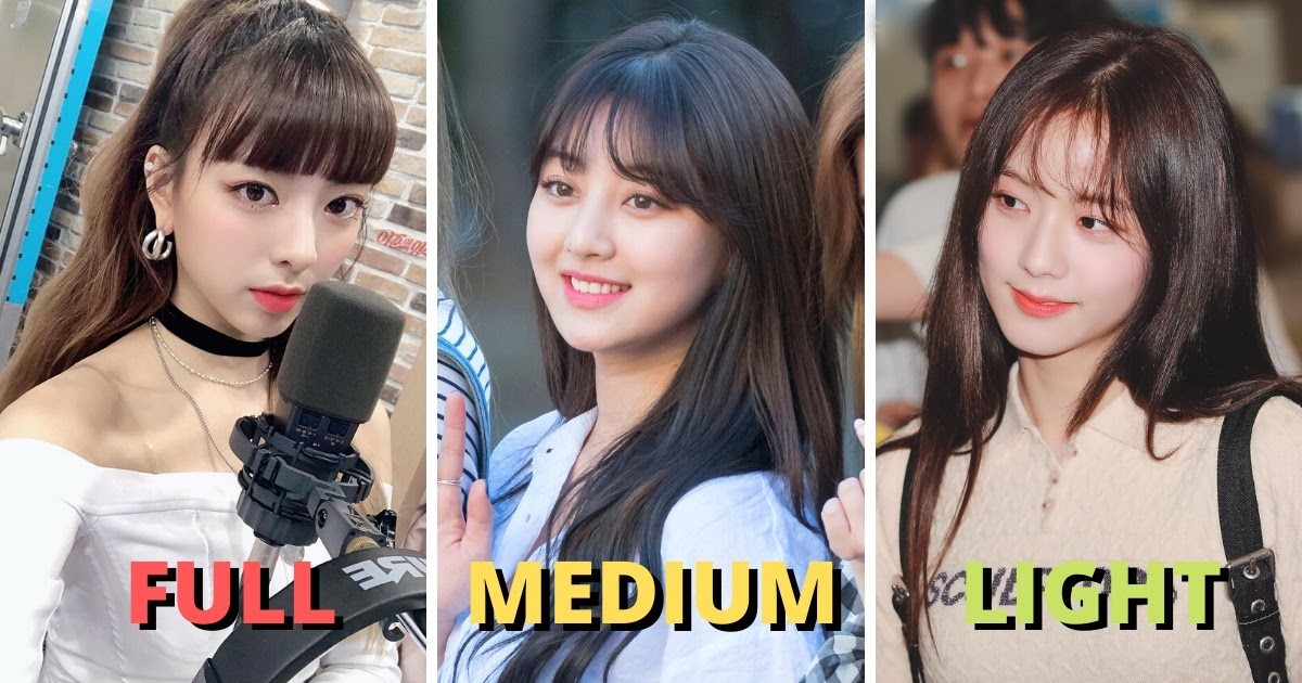 The Guide To Trendy Korean Bangs Which Style Is Right For You Koreaboo