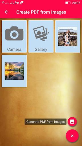 Ekstar Pdf Reader app for Android screenshot