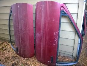 Photo: spare doors