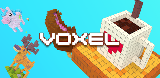 Voxel - 3D Coloring by Numbers app (apk) free download for Android/PC/Windows screenshot