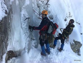 Photo: Dnes budeme cvičiť v ľade na Svišťovku