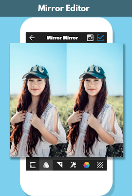 Mirror Photo Editor - screenshot