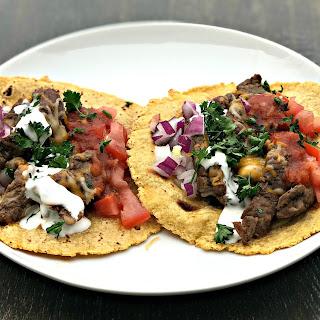 Instant Pot 10-Minute Steak Tacos.