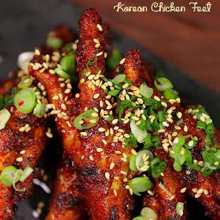 Korean Chicken Feet (Dakbal).