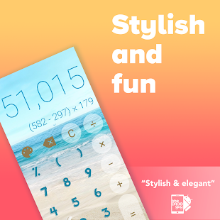 Stylish Calculator Free - CALCU™ Screenshot