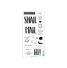 Concord & 9th Clear Stamps 4X8 - Snail Mail