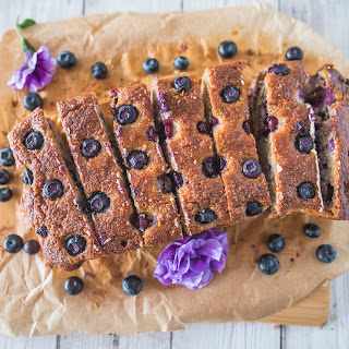 Clean Eating Banana Blueberry Bread Recipe