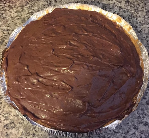 Spread cheese mixture in bottom of crust. Top cheese layer with cooled pudding. Put...