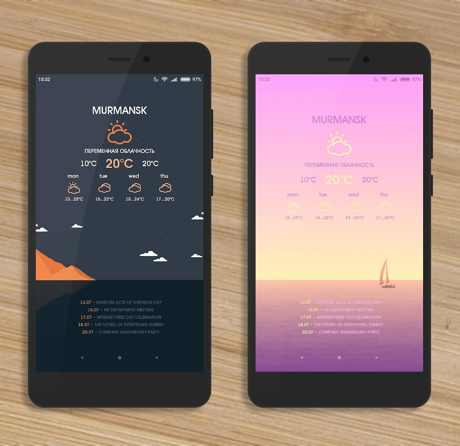 FTS Presets for KLWP- screenshot