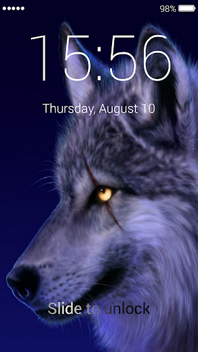 Wolf Lock Screen 1.0 screenshots 7