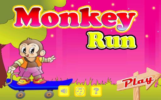 Monkey Run Jump Games