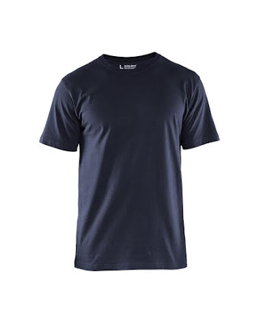 T-shirt Blåkläder 5-pack Mörkmarin
