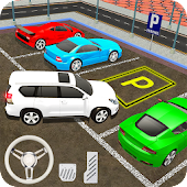 Prado Car Parking City Drive : Free Games