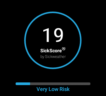 Sickweather- screenshot