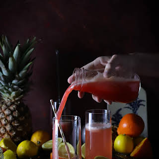 Whole Fruit Pineapple, Raspberry, and Citrus Punch (Sugar Free).