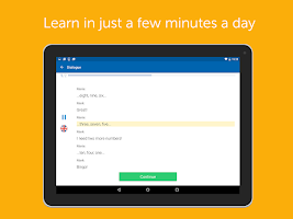Screenshot of Language Learning - busuu