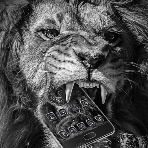 Angry Black Lion Theme Android APK Download Free By Fantastic Design