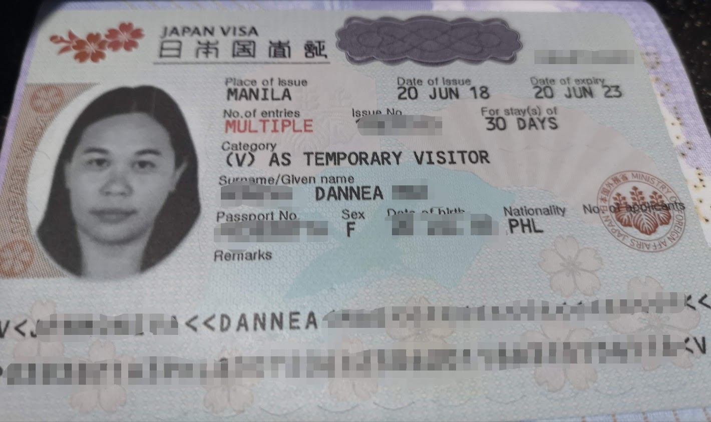 multi-entry Japan visa