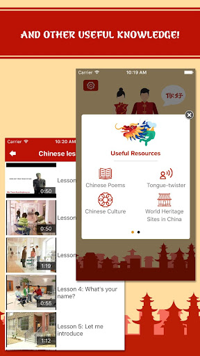 Learn Chinese - Phrases and Words, Speak Chinese 5.4 screenshots 5