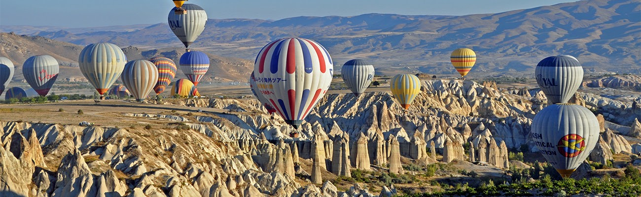 Cappadocia Balloons and Fairy Chimneys