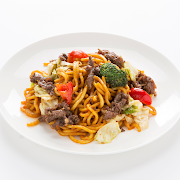 Beef Noodle with Chilli Sauce