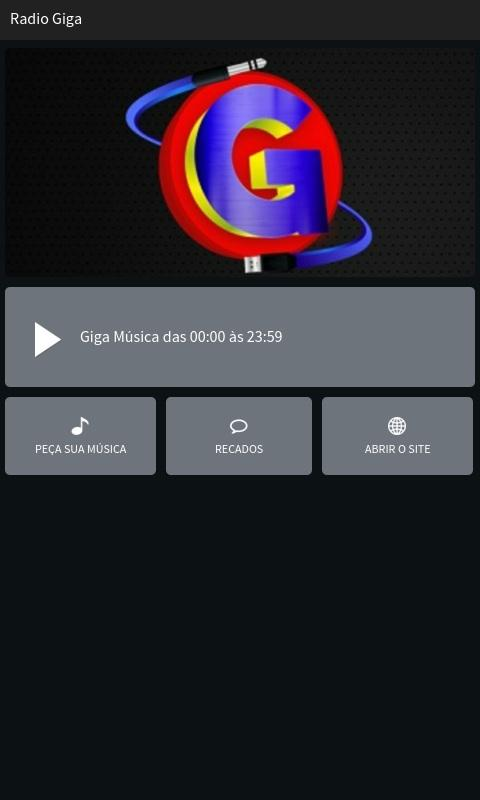 Radio Giga- screenshot