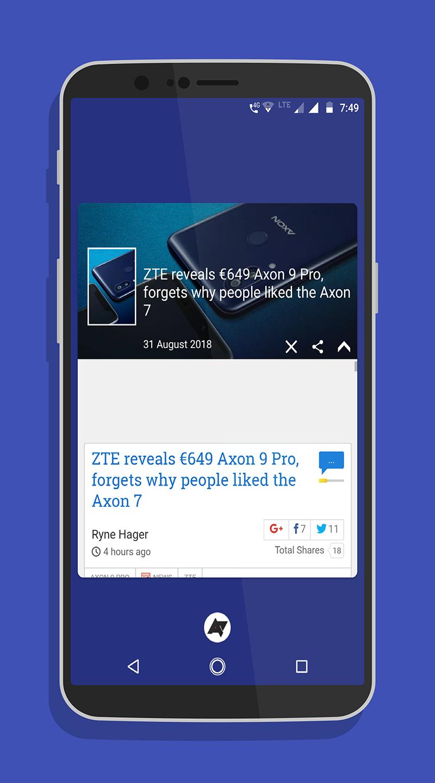 News android - news for android - news on android Screenshot 1