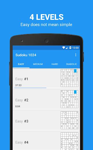 Sudoku 1024 - Super hard