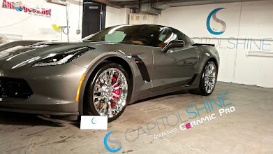 Photo: Check out this beautiful Z06 we recently coated with Capitol Shine's Ceramic Pro!‪ #‎AutoDetail‬ ‪#‎CeramicPro‬ ‪#‎ProtectiveCoating‬ ‪#‎Arlington‬ ‪#‎WashingtonDC‬‪ #‎BethesdaMD‬