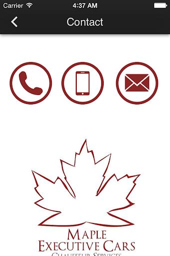 玩免費生活APP|下載Maple Executive Cars app不用錢|硬是要APP
