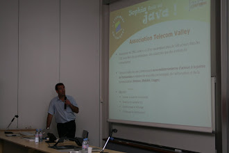 Photo: Intro par Pascal Flamand de Telecom Valley