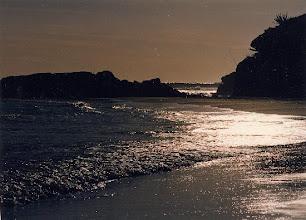Photo: Beach at night - Vilanova i la Geltru