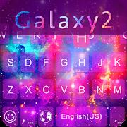 App Galaxy2 Emoji iKeyboard Theme APK for Windows Phone