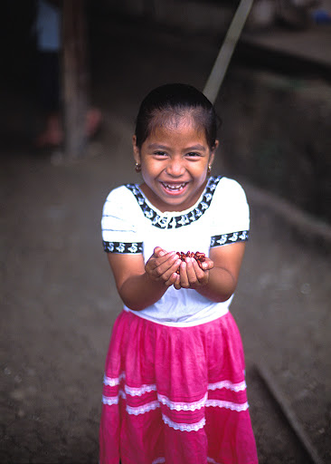girl-in-Belize.jpg - A young girl in Belize.