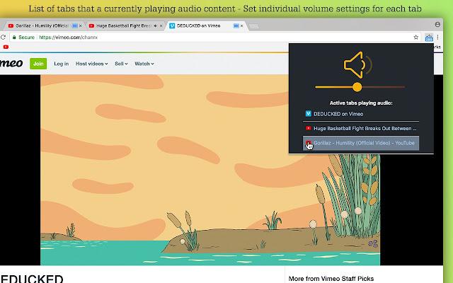 Volume Controller - Chrome Web Store