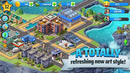 City Island 5 – Tycoon Building Simulation Offline Mod 1.11.3 Apk [Unlimited Money] 3