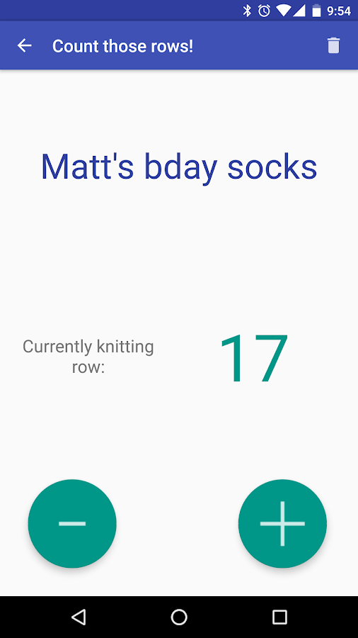 Knitting Row Counter App Android : Row counter android apps on google play